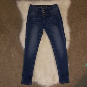 Rue 21 Skinny Leg Jeans, Size 3/4